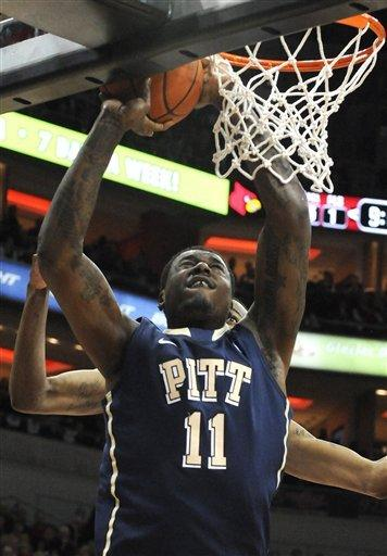 No. 17 Louisville holds on to beat Pitt, 57-54