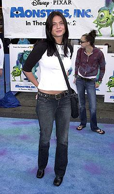 Jodi Lyn O'Keefe at the Hollywood premiere of Monsters, Inc.
