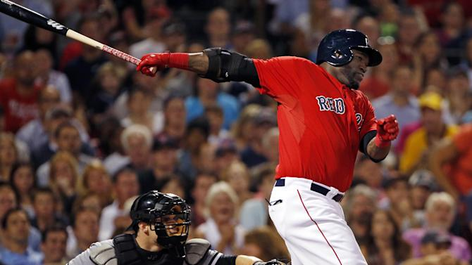 Dempster works into 7th, Red Sox top White Sox 4-3