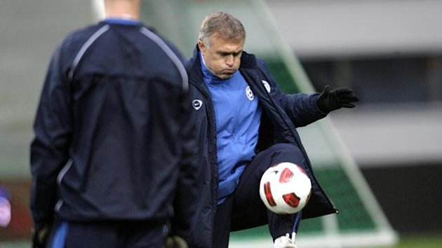 Estonia have parted ways with head coach Tarmo Ruutli after six years (Reuters)