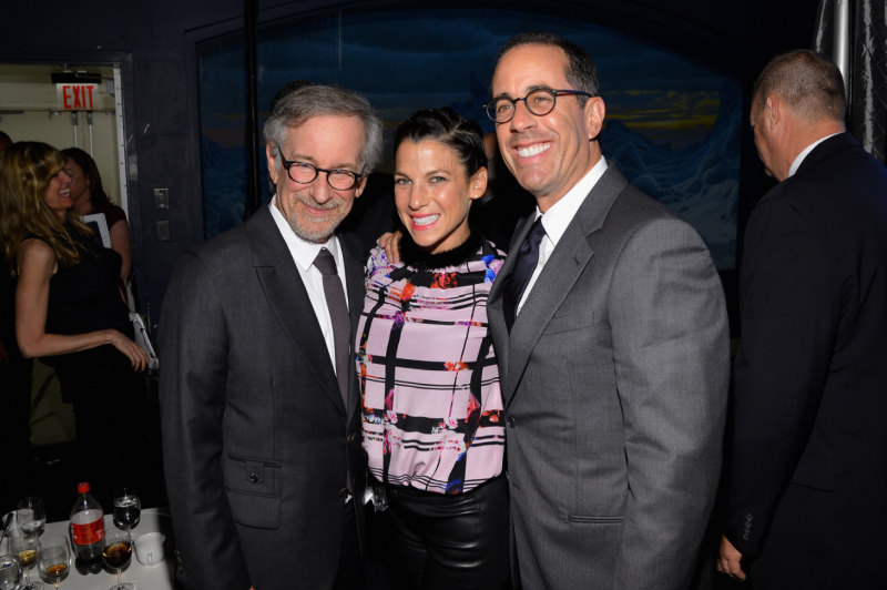Jerry Seinfled George Clooney Steven Spielberg