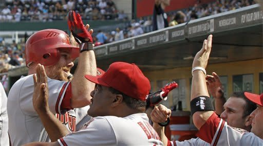Kubel homers twice, Diamondbacks defeat Pirates