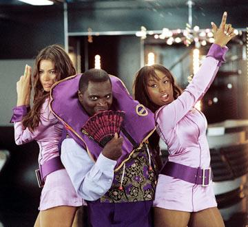 Sofia Vergara , Gary Anthony Williams and Angell Conwell in MGM's Soul Plane