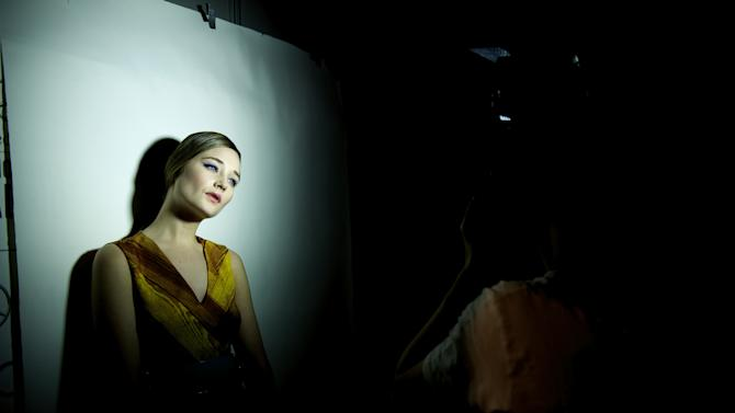 Mercedes Benz Fashion Week Madrid Fall/Winter 2013/14 - Backstage Day 4