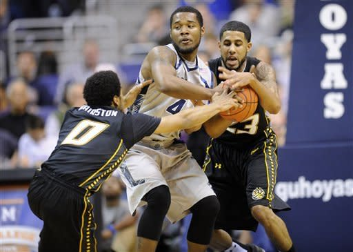 Clankfest II: No. 15 Georgetown tops Towson 46-40