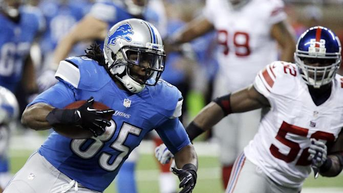 AP source: Lions, Bell agree to 3-year $9.3M deal