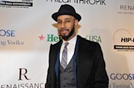 Swizz Beatz is seen at the Hip-Hop Inaugural Ball on Sunday, Jan. 20, 2013 in Washington. (Photo by Larry French/Invision/AP)