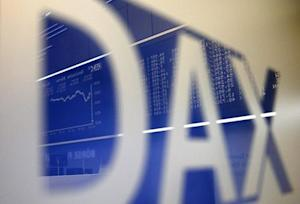 A new all time high is displayed on the German share price index DAX board at the stock exchange in Frankfurt