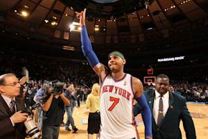 Anthony has 43, Knicks top Bulls in Rose's return