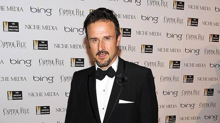 David Arquette White House Dnner
