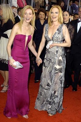 Elizabeth Banks and Marg Helgenberger