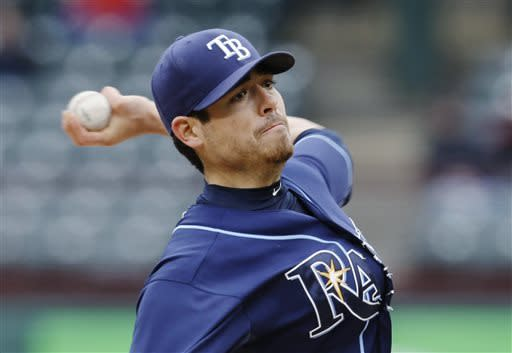 Rays win 2-0 in coldest day game ever at Texas