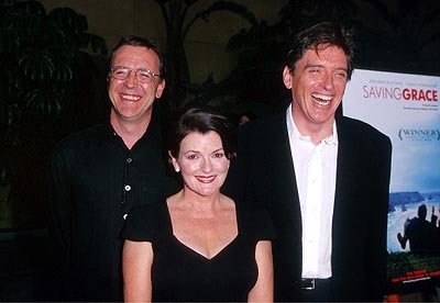 Nigel Cole , Brenda Blethyn and Craig Ferguson at the Egyptian Theatre premiere of Fine Line's Saving Grace