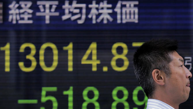 Asia stocks fall ahead of US jobs report