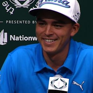 Rickie Fowler comments before the Memorial