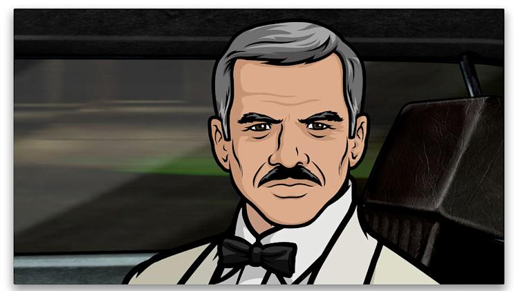 "Burt Reynolds as himself in ""Archer."""