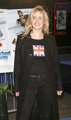 Kate Winslet at the New York premiere of DreamWorks Animation's Flushed Away