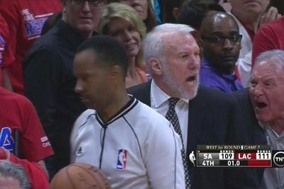The clock operator messed up the Spurs' final play
