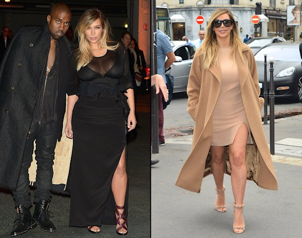 ... at Paris Fashion Week With Two Sexy Looks | omg! - Yahoo Celebrity