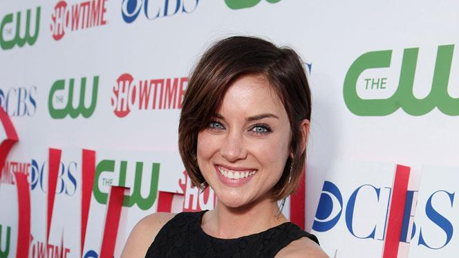 "Jessica Stroup of ""90210"" attends the CBS, The CW, and Showtime 2011 Summer TCA Party at The Pagoda on August 3, 2011 in Beverly Hills, California."