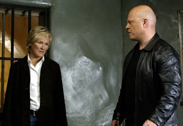Glenn Close and Michael Chiklis FX's The Shield