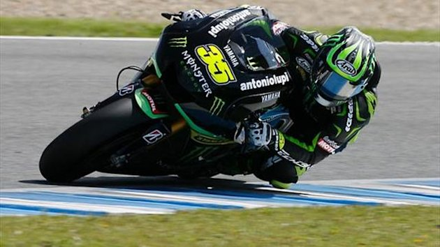 MotoGP Jerez test: New frame 'no improvement' for Crutchlow