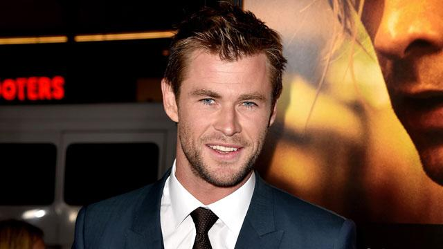 Chris Hemsworth Makes His Instagram Debut With a Giant Snake