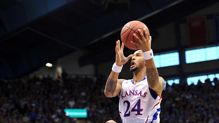 NCAA Basketball: Oklahoma at Kansas