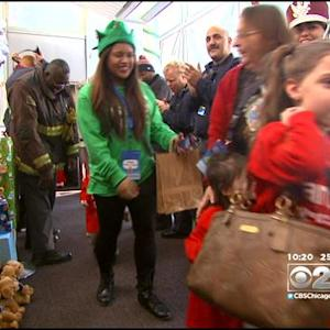 Seriously Ill Kids Fly To 'North Pole' To See Santa