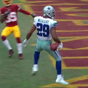 Dallas Cowboys running back DeMarco Murray powerful 9-yard touchdown run