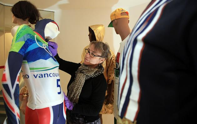 Historic Sporting Outfits And Contemporary Fashion Mix On Display At Bath's Fashion Museum