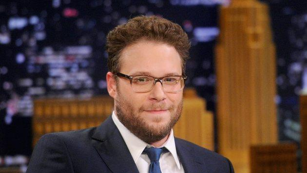 Seth Rogen Visits 'The Tonight Show Starring Jimmy Fallon' at Rockefeller Center on May 6, 2014 in New York City -- Getty Images