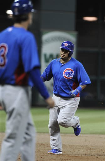 Jackson strikes out 9 as Cubs and Astros tie 6-6