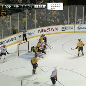 Pekka Rinne Save on Brayden Schenn (06:32/3rd)