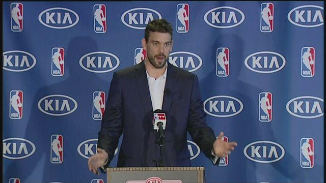 Gasol 'honoured' to win NBA award [AMBIENT]