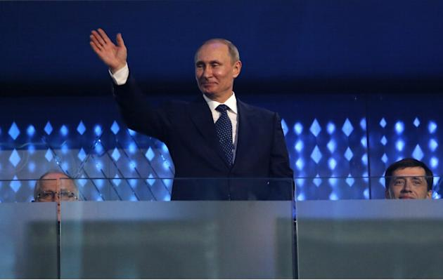 Ukraine Crisis: Putin Approval Rating Hits 3-Year High After Crimea Invasion and Sochi Olympics