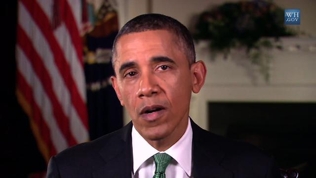 "Obama praises Senate for taking ""big steps forward"" on gun control"