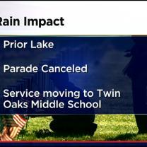 Memorial Day Events Impacted By Rain