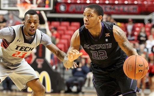 No. 13 Kansas State beats Texas Tech 68-59