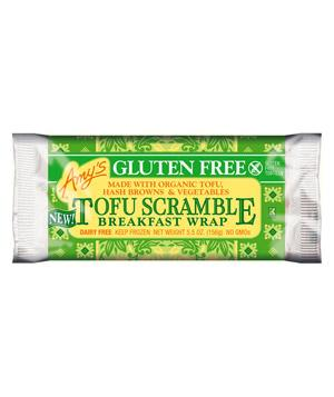 Amy's Gluten Free Tofu Scramble Breakfast Wrap