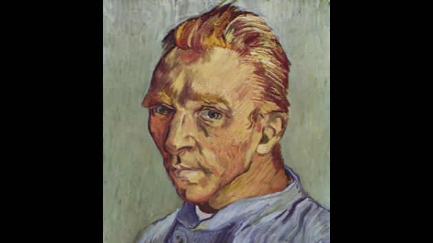 """Self Portrait by Vincent van Gogh, sold for $71.5 million in1989."