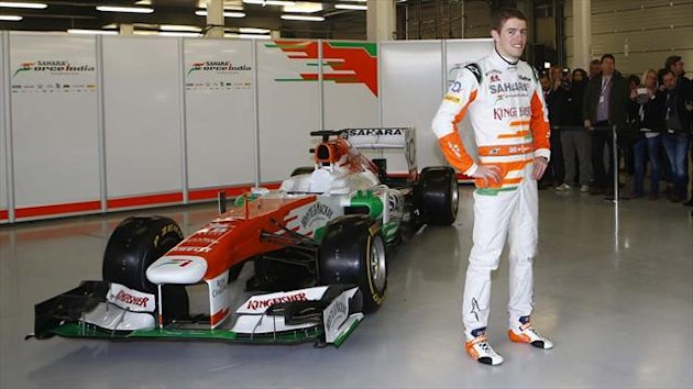 Paul di Resta with the 2013 Force India (Reuters)