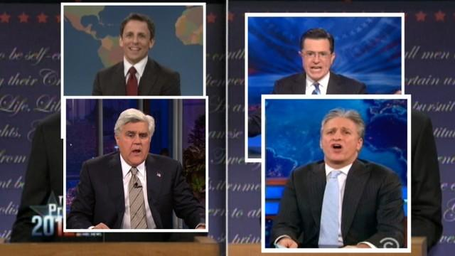 Thanksgiving: Political reporters, late night comedians should give thanks for 2012