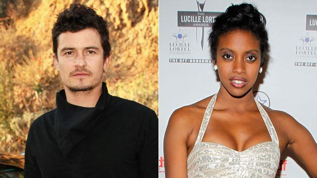 Orlando Bloom & Condola Rashad are Romeo & Juliet