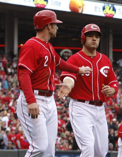 Bruce home run lifts Reds to win over Astros