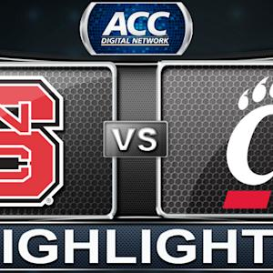 NC State vs Cincinnati | 2013 ACC Basketball Highlights