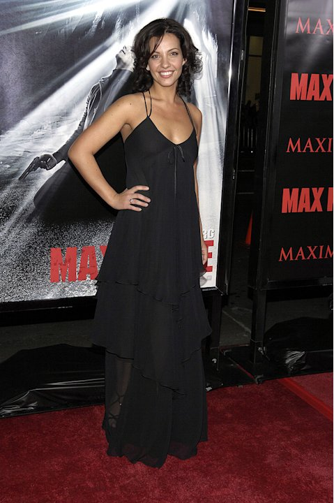 Max Payne LA Premiere 2008 Marianthi Evans