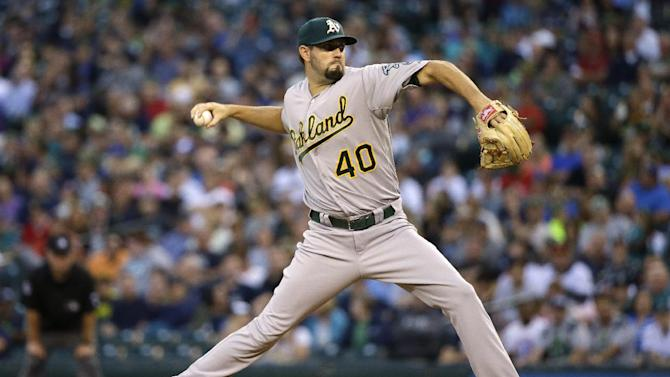 Seattle uses long ball to beat Oakland 4-2