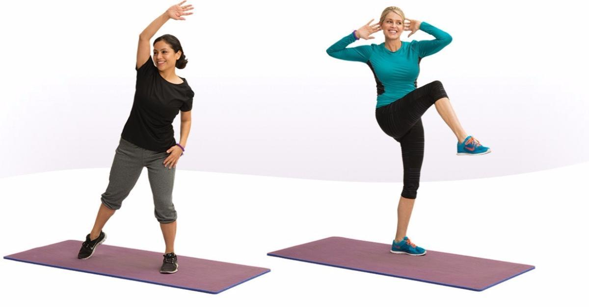 All New Dance And Tone Class