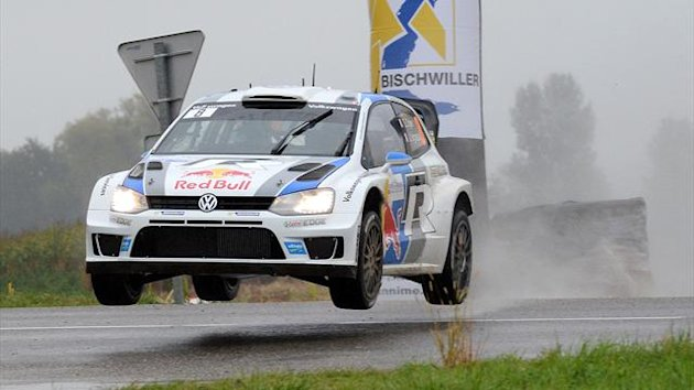 2013 WRC Rally France Sebastien Ogier (AFP)